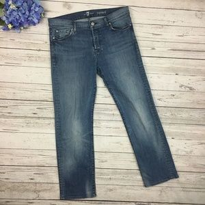 7 For All Mankind Standard Jeans Button Fly 34
